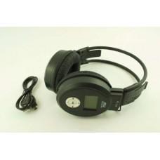 Наушники MJ 168 MP3+FM Черный, Bluetooth