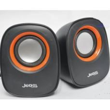 Колонки USB 2.0 JEDEL JD-M600 (Q-106) Black/Orange
