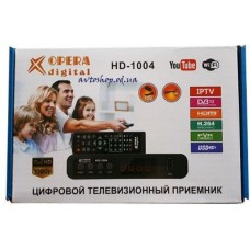 Тюнер Т2 Opera HD-1004/YouTube/WiFi/USB