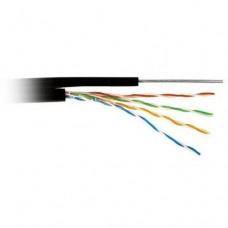 ATcom 11952 Кабель сетевой UTP 305м cat.5e Premium, для внешней прокладки с тросом Atcom