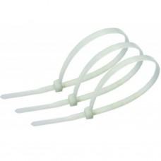 Стяжка для кабелей нейлон. неоткрыв. 80мм, 100шт для кабелей