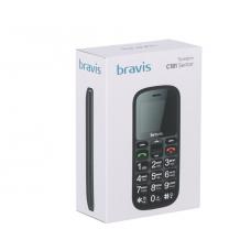 Мобильный телефон Bravis Senior C181 Dual Sim black