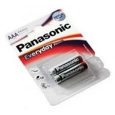 Батарейки Panasonic EVERYDAY POWER AAA 2 шт. (LR03REE/2BR)