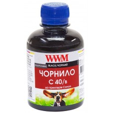Купить новое Чернило WWM 200 г C40/B Black