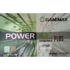 Блок питания 650W GameMax GP-650 14sm fan ATX