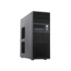 Корпус Chieftec CQ-01B-U3-500S8 500W чёрный ATX