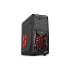 Корпус DTS TD-07 USB 3.0 , ATX без БП + лед кулер с посветкой (красный)
