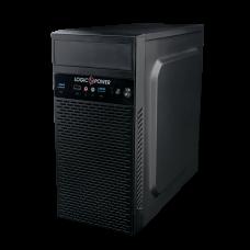 Корпус LogicPower 6101 400w 12cm mATX