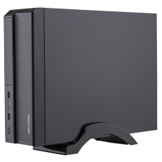 Корпус LogicPower S620  400W Slim, mini-ITX/mATX, чёрный