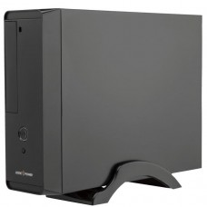 Корпус LogicPower S621  400W Slim, mini-ITX/mATX, чёрный
