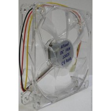 Вентилятор для корпуса 120мм green,red,blue