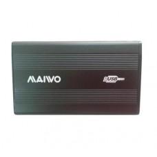 Карман Maiwo K2501A-U2S black внешний 2.5'' HDD, SATA, 1xUSB 2.0