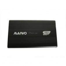 Корпуса для компьютеров опт и розница Карман Maiwo K2501A-U3S black внешний 2.5'' HDD, SATA, 1xUSB 3.0 ⏩ megapower.space ▻▻▻