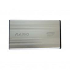 Карман Maiwo K2501A-U3S silver внешний 2.5'' HDD, SATA, 1xUSB 3.0