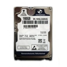 Винчестер 160GB Mediamax (Western Digital) WL160GLSA854G, 5400rpm, 8Mb, 2.5""