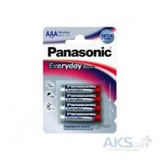 Батарейки Panasonic EVERYDAY POWER AAА 4 шт. ALKALINE (LR03REE/4BR)