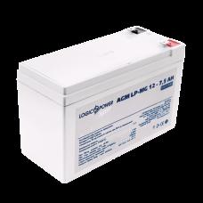 Аккумулятор мультигелевый LogicPower 12В 7.5 Ач (AGM LPM-MG 12 - 7.5 AH SILVER)