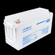Аккумулятор мультигелевый  LogicPower 12В 150 Ач (AGM LPM-MG 12 - 150 AH)