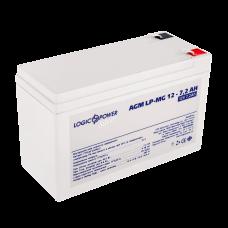 Аккумуляторная батарея LogicPower 12В 7 Ач (AGM LPM-MG 12 - 7.2 AH)