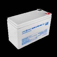 Аккумуляторная батарея LogicPower 12В 7 Ач (AGM LPM-MG 12 - 7 AH)