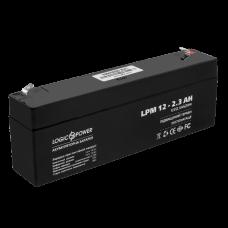 Аккумулятор LogicPower 12В 2.3 Ач (AGM LPM 12 - 2.3 AH)
