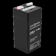 Аккумулятор LogicPower 4В 4 Ач (AGM LPM 4 - 4 AH)