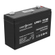 Аккумулятор LogicPower 6В 14 Ач (AGM LPM 6 - 14 AH)