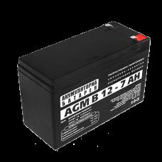 Аккумуляторная батарея LogicPower 12В 7 Ач (AGM В 12 - 7 AH)