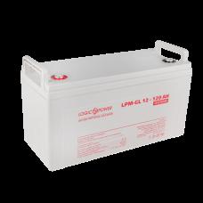 Аккумулятор гелевый LogicPower 12В 120 Ач (LPM-GL 12 - 120 AH)