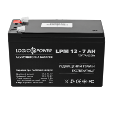 Аккумулятор LogicPower 12В 7 Ач (AGM LPM 12 - 7.0 AH)