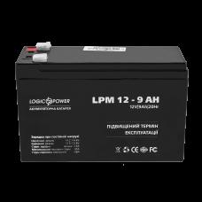 Аккумулятор LogicPower 12В 9 Ач (AGM LPM 12 - 9 AH)