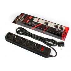 Сетевой фильтр FrimeCom FC-B4005W чёрный, 3 м, 5 розеток
