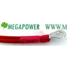Провод медный 22 мм 2  50 см, для соединения аккумуляторных батарей, с клеммами