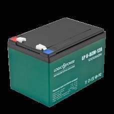 Аккумулятор тяговый свинцово-кислотный LogicPower 12В 12 Ач (LP 6-DZM-12)