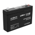 Аккумуляторные батареи опт и розница Аккумулятор LogicPower 6В 7.2 Ач (LPM 6 - 7.2 AH) ⏩ megapower.space ▻▻▻