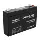 Аккумулятор LogicPower 6В 7.2 Ач (AGM LPM 6 - 7.2 AH)