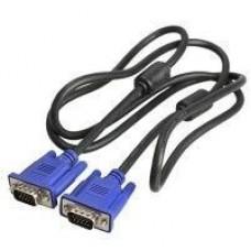 Кабель Viewcon VGA 1.5м M/M с 2-мя фильтрами качественный