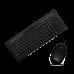Клавиатуры опт и розница Комплект Crown CMMK-855 клавиатура+мышка, USB ⏩ megapower.space ▻▻▻