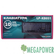 Клавиатура LogicPower LP-KB 051 чёрная, USB