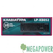 Клавиатуры опт и розница Клавиатура LogicPower LP-KB 052 чёрная, USB ⏩ megapower.space ▻▻▻