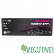 Клавиатура LogicPower LP-KB 000 чёрная, USB