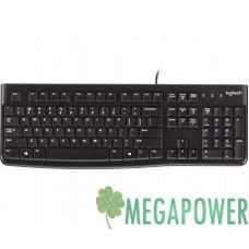 Клавиатуры опт и розница Клавиатура Logitech K120 чёрная, USB (920-002522) Rus ⏩ megapower.space ▻▻▻