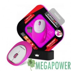 Мышка Crown CMM-931W Pink wireless