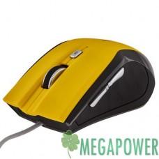Мышка LogicFox LF-MS 043 чёрно-жёлтая, USB