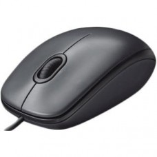 Мышка Logitech M90 Dark чёрная, USB (910-001794)