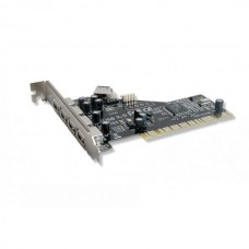 Контроллер Gembird USB 2.0 PCI 4 порта, чип ALi
