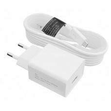 Зарядное устройство LogicPower LP АС-013 USB 5V 2A + кабель USB - Type-C (Белый) /ОЕМ
