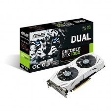 Видеокарта GeForce GTX1060 6GB DDR5, 192 bit, PCI-E 3.0 ASUS (DUAL-GTX1060-O6G)
