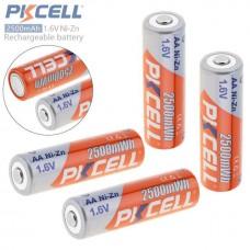 Аккумулятор PKCELL AA 2500mWh Ni-Zn 1.6V