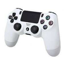 Джостики и геймпады опт и розница Джойстик PS4 беспроводной Bluetooth Белый, ⏩ megapower.space ▻▻▻